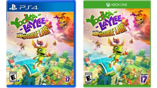 Yooka-Laylee and the Impossible Lair for PS4 or Xbox One