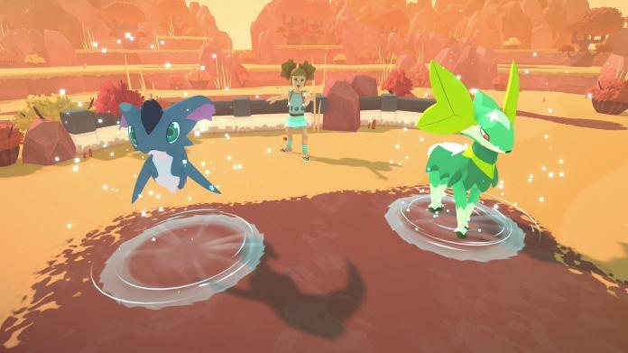 Temtem PlayStation 5 screenshots.