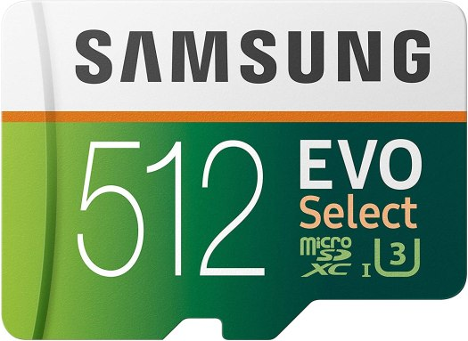 512GB MicroSDXC Card