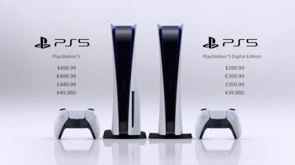 PS5's Prices Come Out Swinging