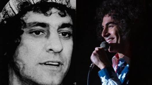 """<b>Abbie Hoffman</B><p>  Hoffman remained an activist for the rest of his life, authoring Steal This Book, which he dubbed """"a handbook for living free, stealing and making violent revolution."""" Heeding the book's title, enough people stole the book that many stores stopped carrying it. Hoffman was arrested in 1973 for intent to sell and distribute cocaine. He claimed he was entrapped by an undercover officer and went on the run for several years, during which time he abandoned his family and even had plastic surgery to alter his appearance. Hoffman eventually served four months of a one-year prison sentence. He later returned to activism and made a cameo as a protestor in Oliver Stone's 1989 film Born on the Fourth of July. Hoffman, who had been diagnosed with bipolar disorder, died at age 52 in April 1989 from what was officially ruled a suicide by phenobarbital overdose. Hoffman's suicide has many doubters, including fellow Chicago 7 member David Dellinger, as Hoffman would regularly lecture on how the CIA disguised their assassinations as suicides. (Photo credit: Getty/Netflix)"""