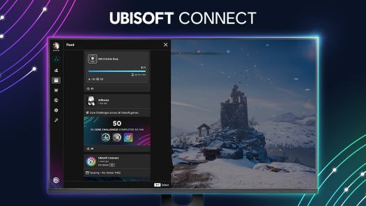 Ubisoft Connect interface.
