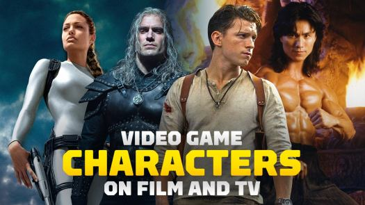 With fans now having had their first look at Tom Holland as Nathan Drake in the long-awaited Uncharted movie, let's look back at other actors who have played iconic video game characters in live-action adaptations and see how much they resembled their counterparts.