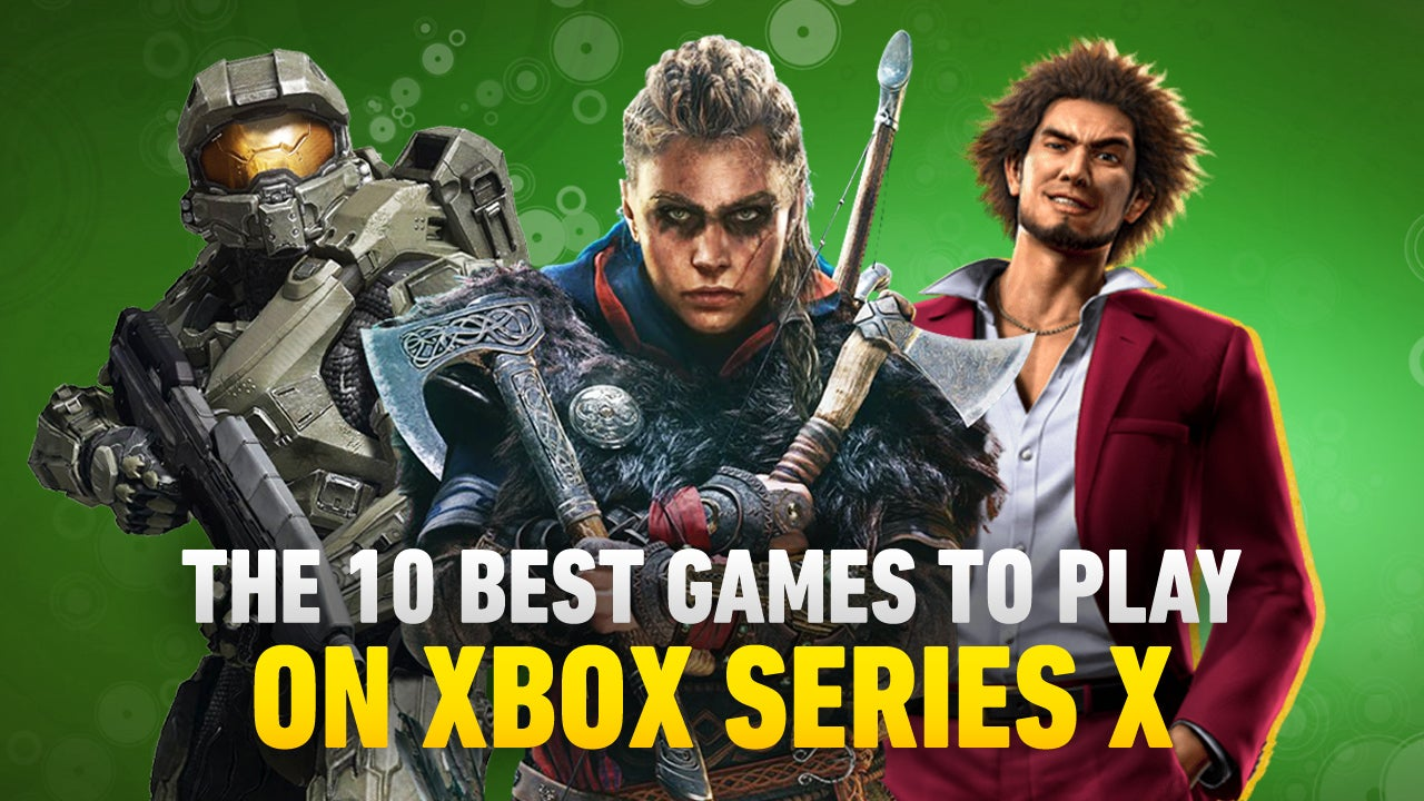 The Xbox Series X and Series S are finally out, and while there aren't many big new exclusives on Microsoft's newest platform there are still plenty of great games on the black and white bricks.<br><br>Whether jumping into a new adventure or revisiting an old favorite, here are our picks for the ten best games on the Xbox Series X. Let us know what's on your list that's not on ours in the comments!