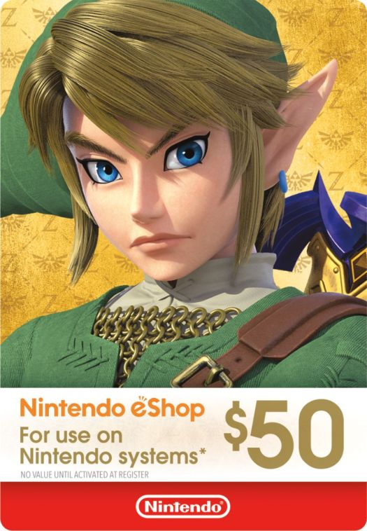 Nintendo eShop Gift Cards are 10% Off
