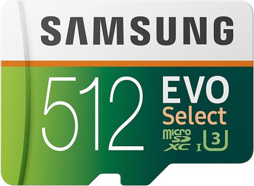 Samsung EVO 512GB MicroSD Card