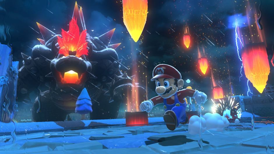 Image result for mario bowsers fury