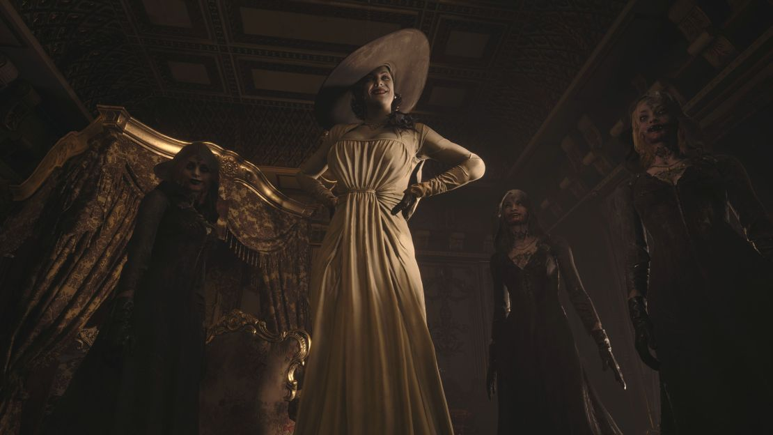 New screenshots from the Resident Evil Village showcase.