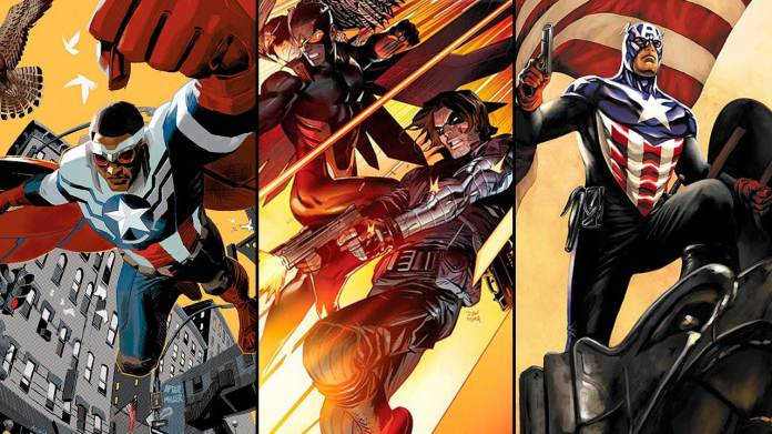 Here are 10 key comic book history arcs involving the Falcon and the Winter Soldier, presented in no particular order ...