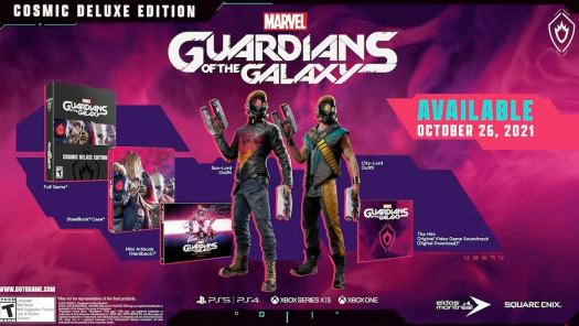 Marvel's Guardians of the Galaxy Is Up for Preorder - E3 2021 2