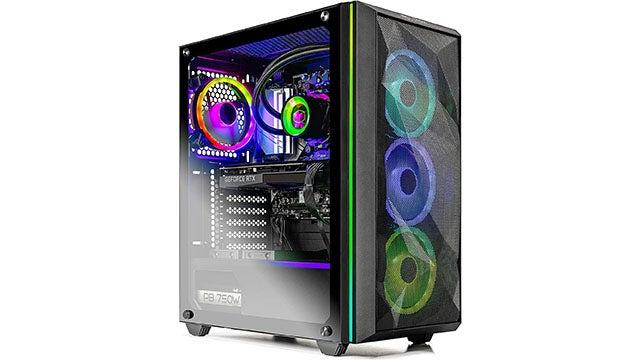 Skytech AMD Ryzen 7 3700X RTX 3080 PC with 16GB RAM, 1TB SSD