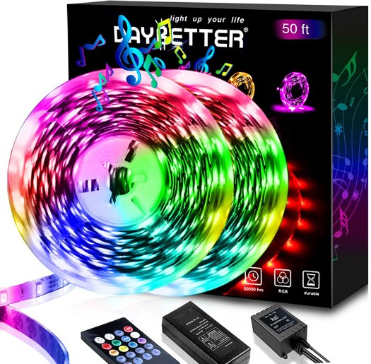 Daybetter 50ft LED Strip Lights