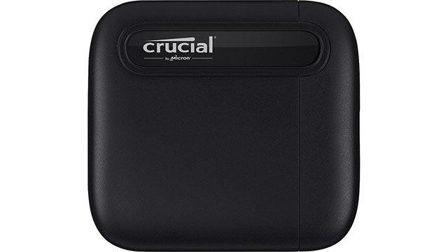 Crucial X6 1TB USB Type C Portable SSD