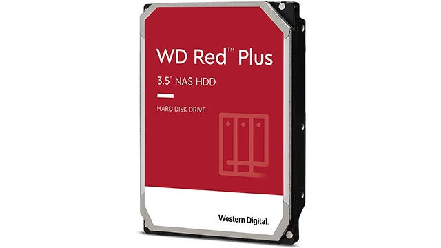 WD Red Plus 6TB NAS Optimized Internal SATA Hard Drive