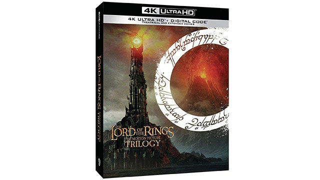 The Lord of the Rings Extended & Theatrical 4K Ultra HD Blu-ray
