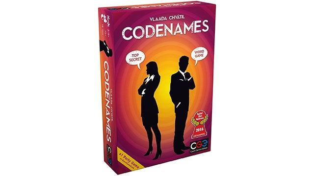 Code Names Board Game