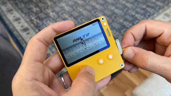 img-7735-1626968744049 Hands-On With Playdate, The Crank-Based, 1-Bit Handheld Coming Later This Year | IGN
