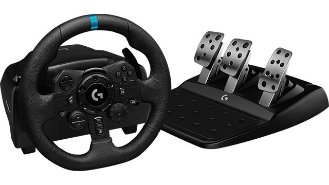 Set of wheels and pedals Logitech G923 TRUEFORCE