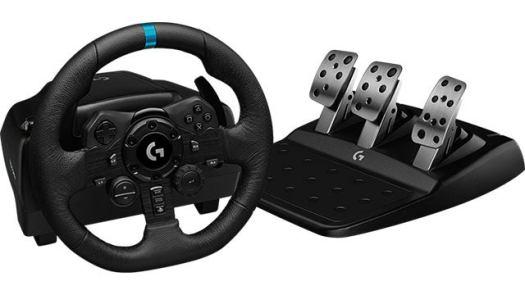 Logitech G923 TRUEFORCE Racing Wheel and Pedals Set