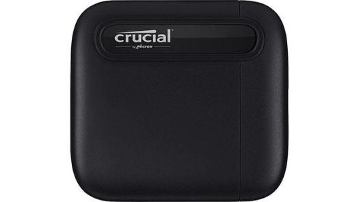 Crucial X6 500GB USB 3.2 Portable SSD