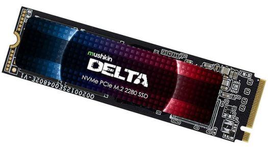 Mushkin Enhanced Delta 2TB PCIe Gen4 x4 M.2 SSD (up to 5000Mbps)