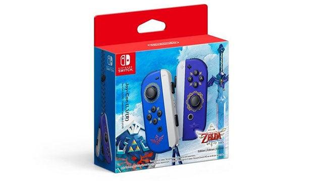 Nintendo Switch Joy-Cons The Legend of Zelda: Skyward Sword HD Edition (Pair)
