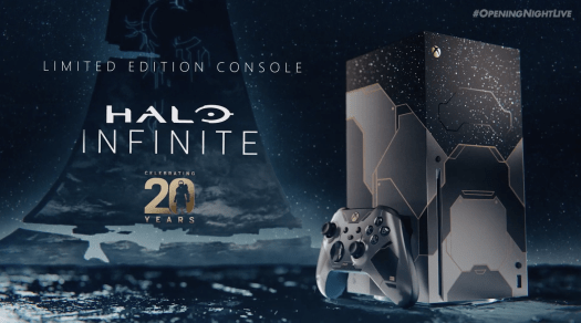Halo Infinite Controller and Xbox Series X — One Night Live Gamescom 2021