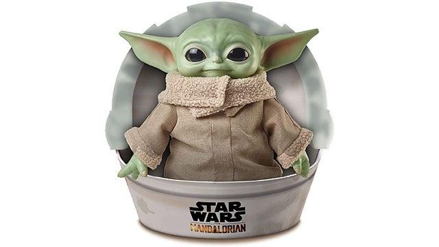 "Star Wars The Mandalorian Grogu ""The Child"" 11-Inch Plush Toy"
