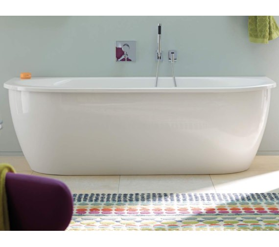 Duravit Darling New 1900x900mm BackToWall Bath With