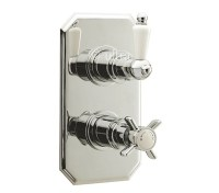 Ultra Beaumont Twin Concealed Thermostatic Shower Valve ...