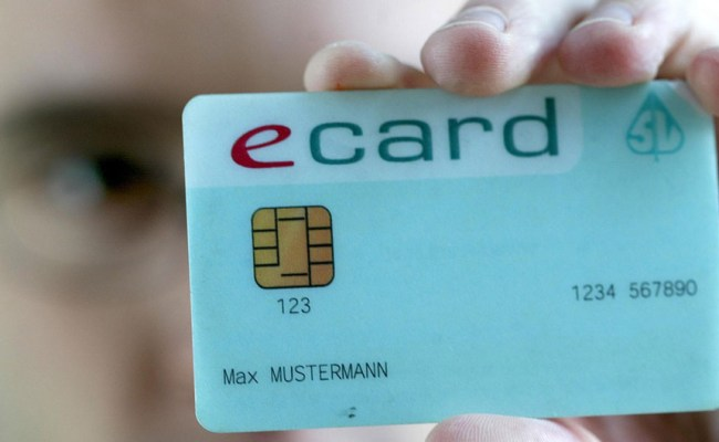 Mehr Funktionen Sicherer E Card Kommt Mit Foto Ab Herbst
