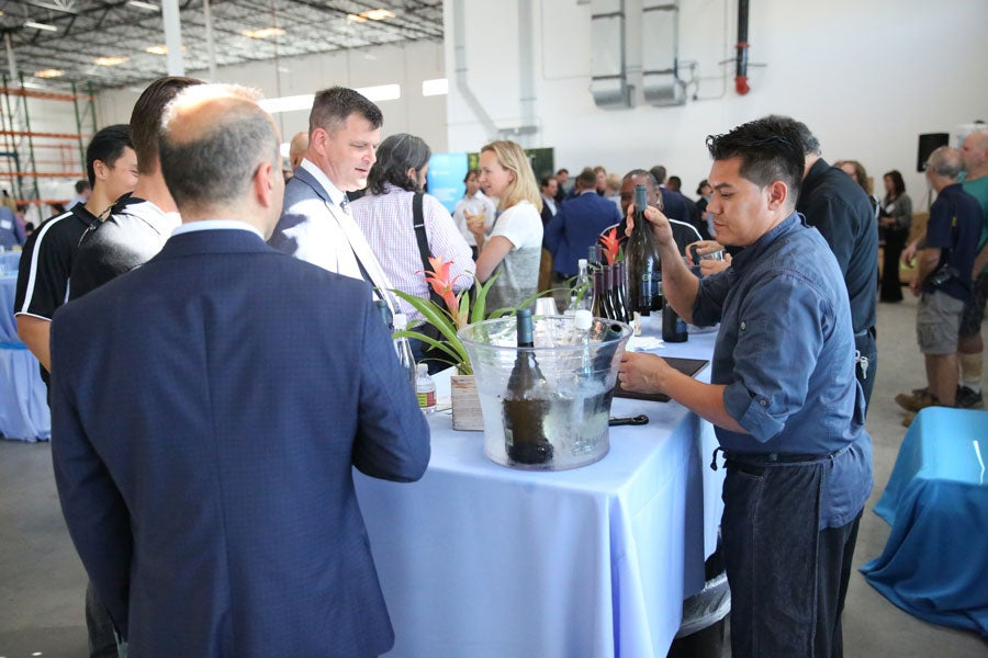 Tritium staff at Los Angeles Launch