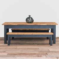 The Dairy Table Dining Set Rustic Reclaimed Dining Kitchen ...