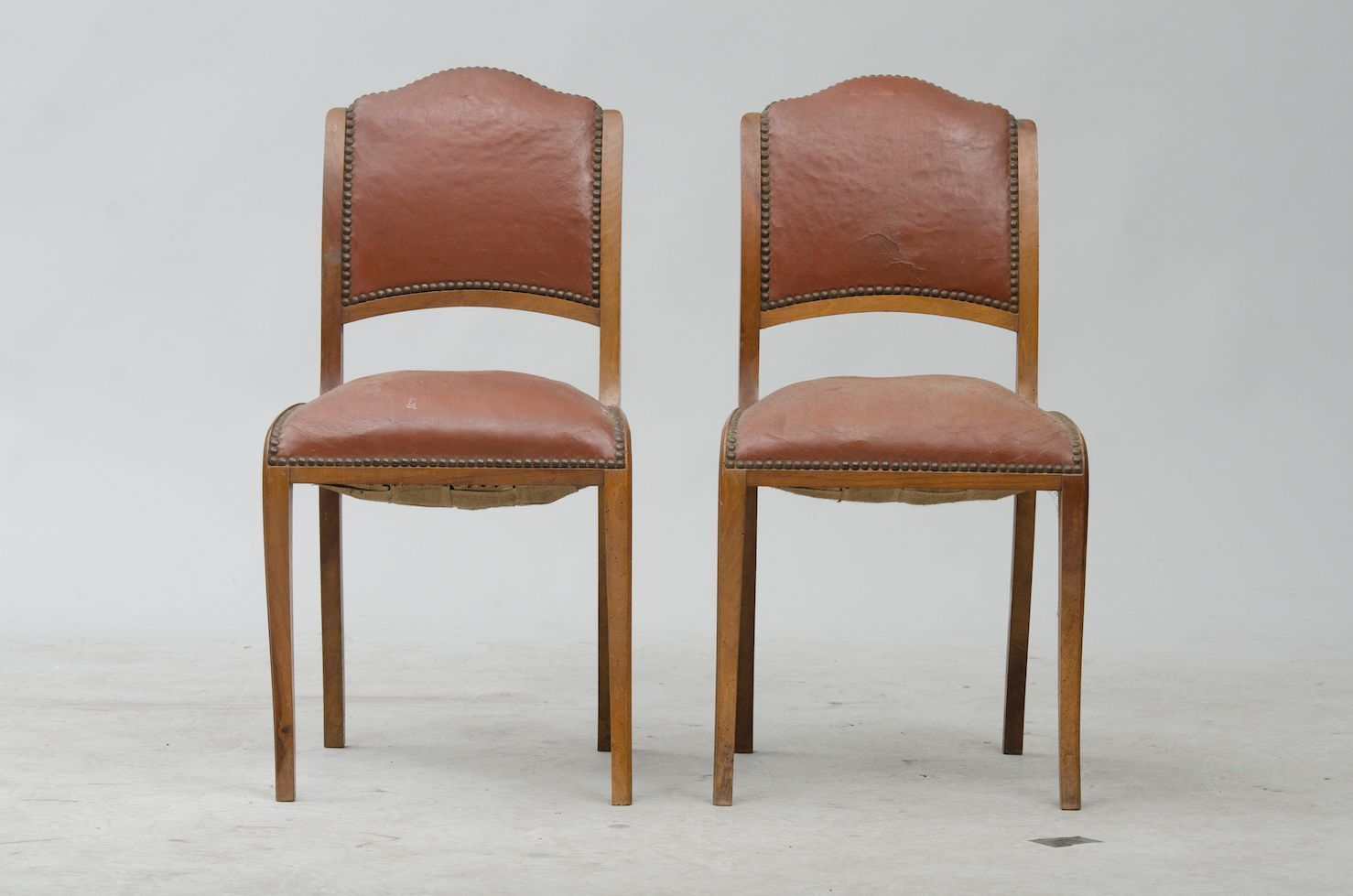 Art Deco Dining Chairs Vintage Art Deco Walnut Dining Chairs Set Of 6