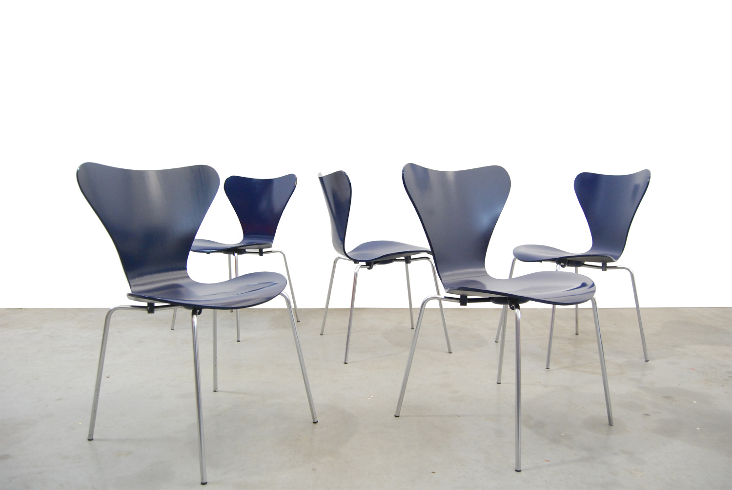 Fritz Hansen Chairs Vintage Butterfly Chairs By Arne Jacobsen For Fritz Hansen 1969 Denmark