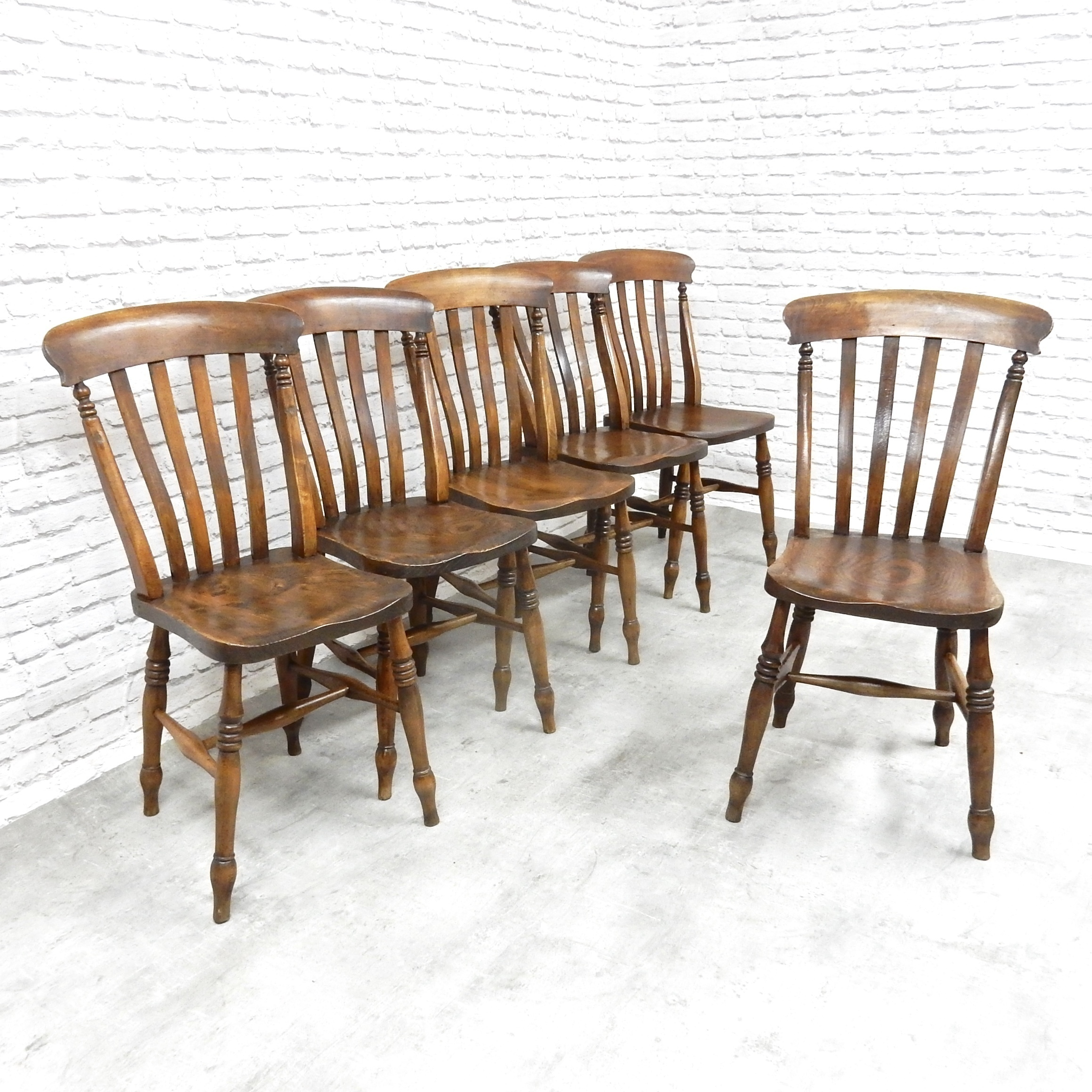 Country Kitchen Chairs Set Of 6 Antique Country Kitchen Chairs