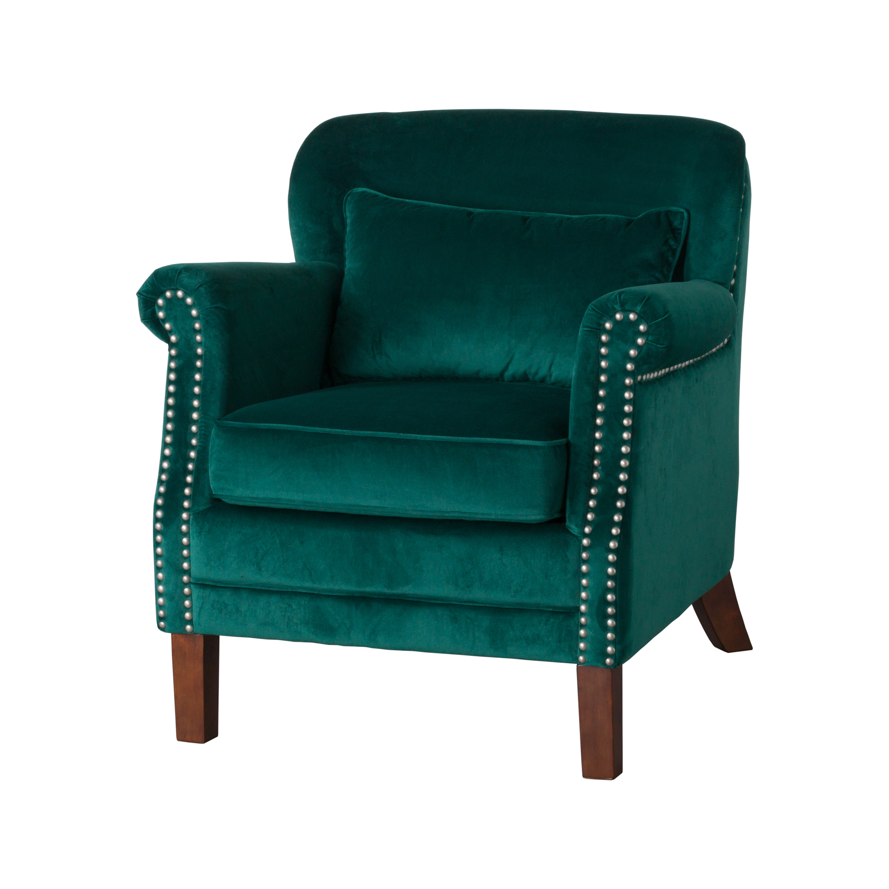 Emerald Green Accent Chair Free Shipping Emerald Green Velvet Armchair Fabric Low Back Occasioanl Accent Chair