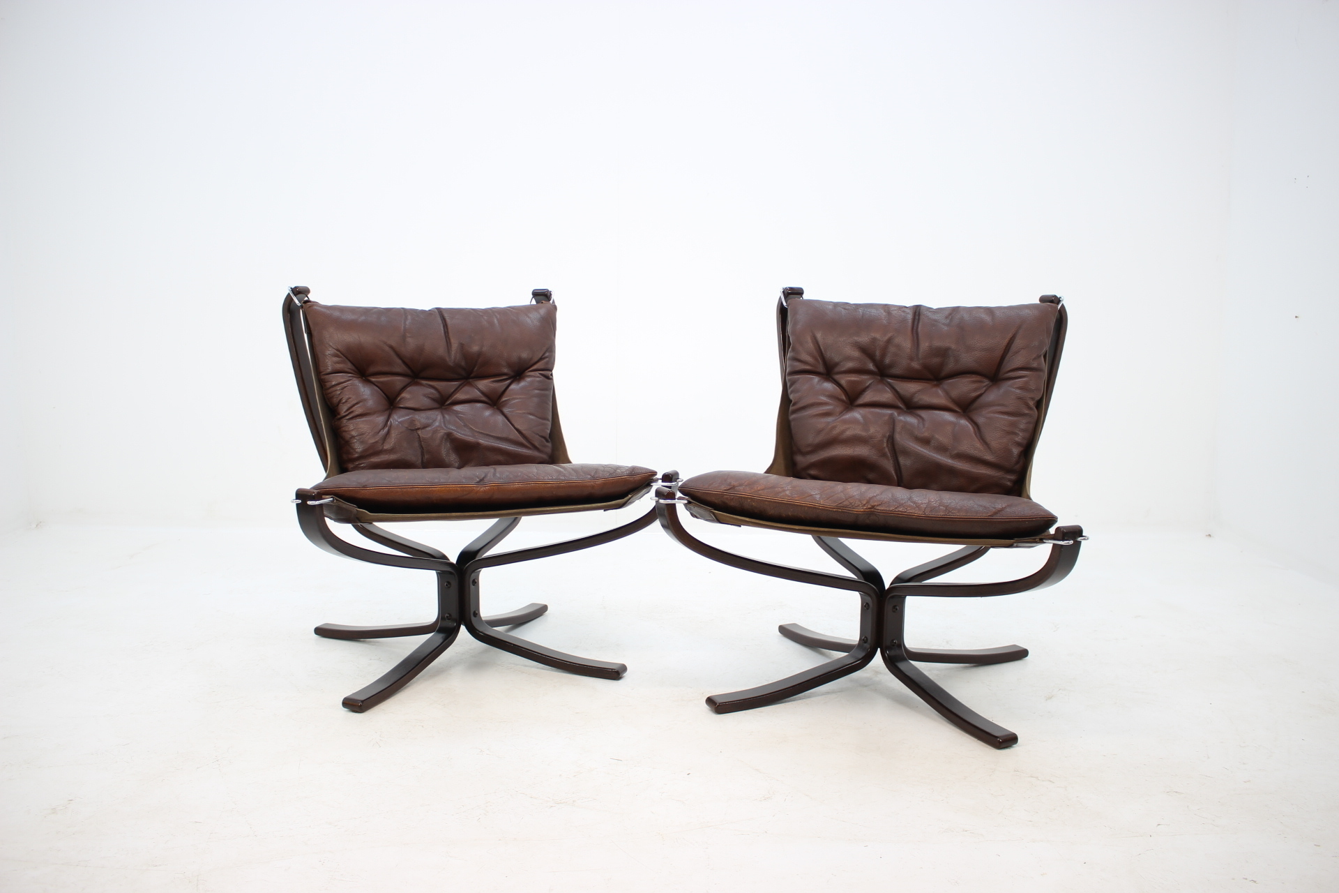 Falcon Chair 1970s Falcon Chair By Sigurd Ressell For Vatne Møbler Set Of 2 Sigurd Russell Vatne MØbler Vinterior Co