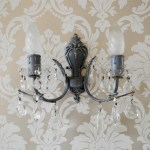 French Shabby Chic Wall Sconce Candle Holder Antique Vintage Style Wall Light Candle Wall Lights Wall Lighting Fixtures