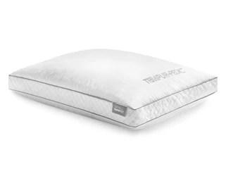 tempur down precise support pillow
