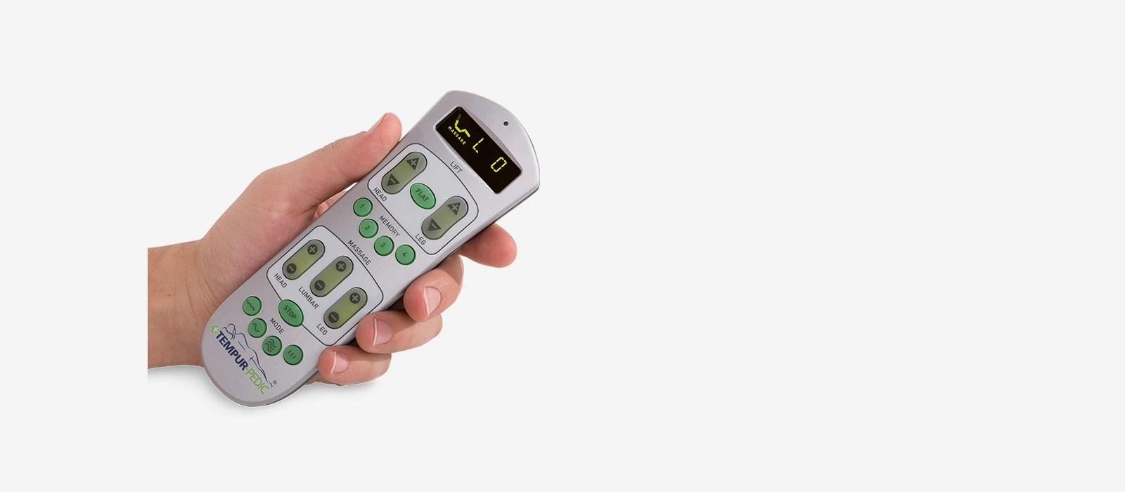 TEMPURErgo Premier Wireless Remote  TempurPedic