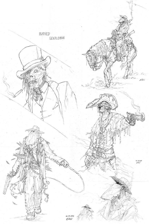 Sketchbook of Wojciech Ostrycharz · 3dtotal · Learn