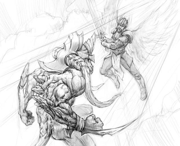 Making Of 'Imp VS Angel Warrior' · 3dtotal · Learn
