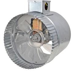 2 speed 6 inductor in line duct fan  [ 2347 x 2400 Pixel ]