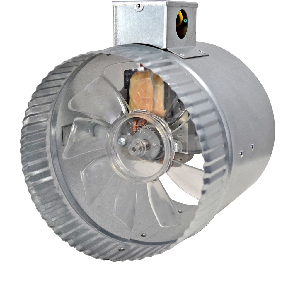 medium resolution of 2 speed 6 inductor in line duct fan