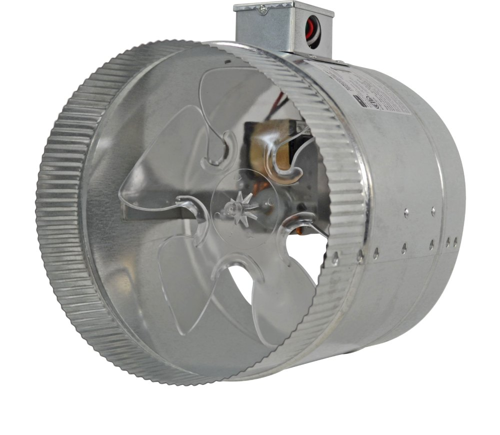 medium resolution of 2 speed 8 inductor in line duct fan