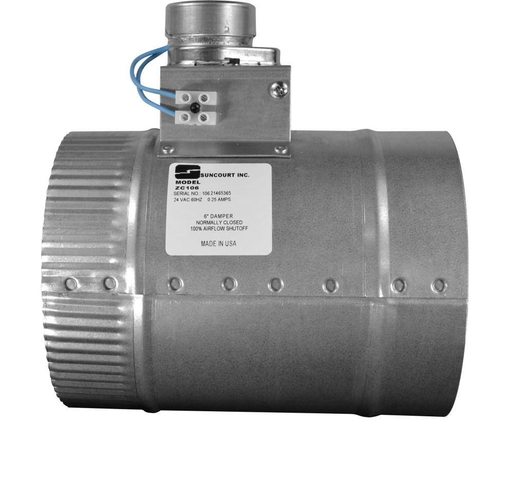 medium resolution of zonemaster motorized damper