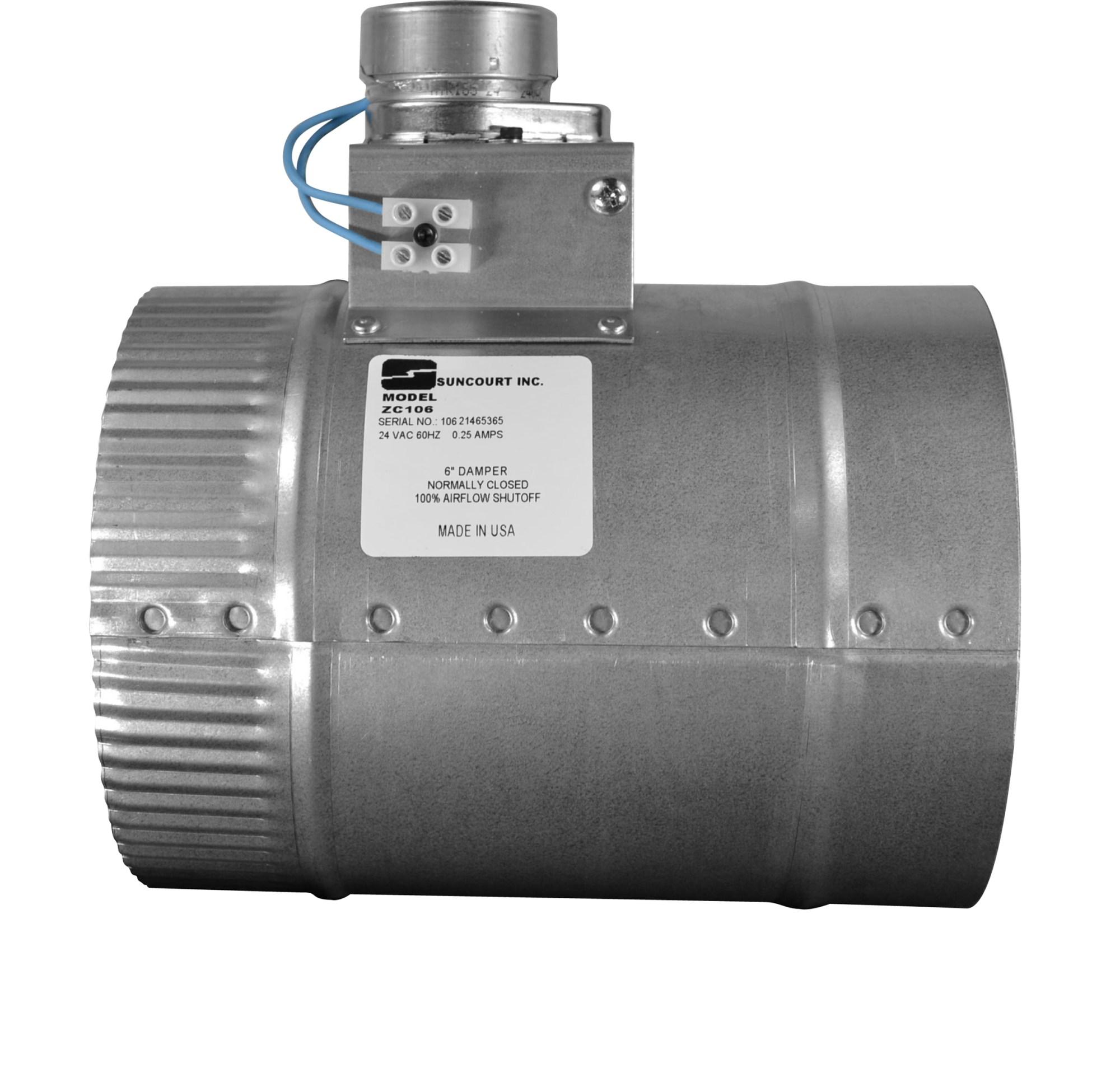 hight resolution of zonemaster motorized damper