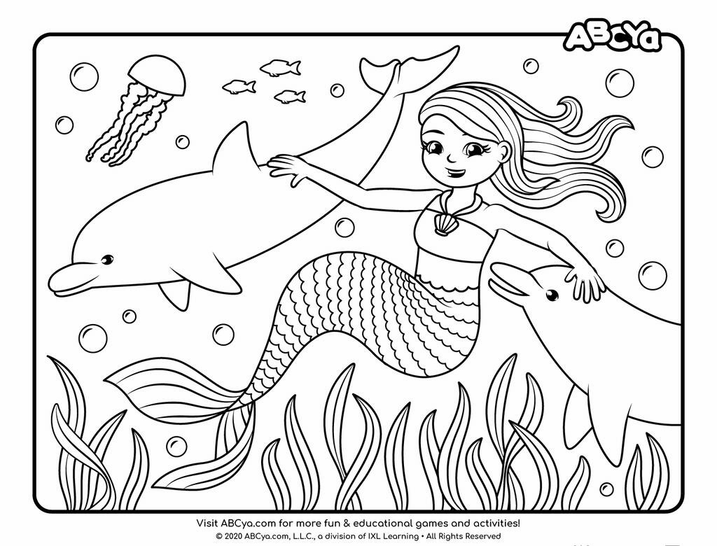 Delphine and the Dolphins • ABCya!