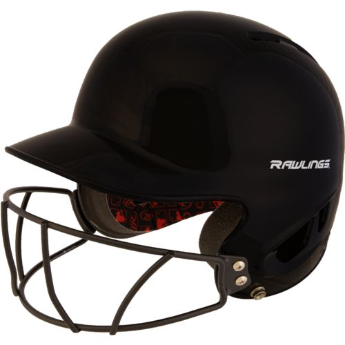 Rawlings Youth Mlb Authentic Style T Ball Batting Helmet With Faceguard